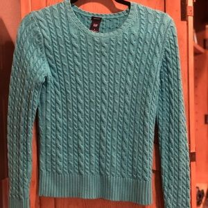 Soft Cotton Gap Sweater